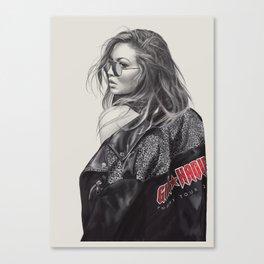 Beautiful Gigi Canvas Print