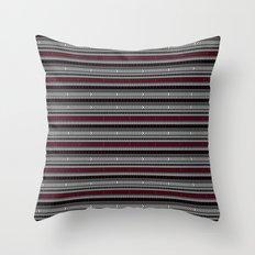 NOMADIK - tribal geometrics Throw Pillow