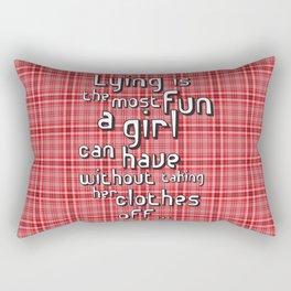 Lying Game Rectangular Pillow