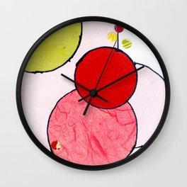 Circling around Wall Clock