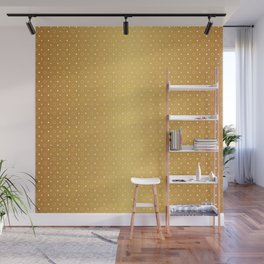 Art Deco, Simple Shapes Pattern 1 [RADIANT GOLD] Wall Mural