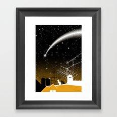 Virus of Life Framed Art Print