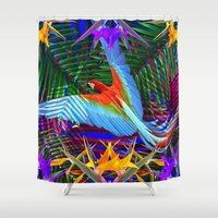 into the wild Shower Curtains featuring WILD by Katekima