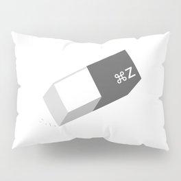 Funny Command Z Undo Eraser Pillow Sham