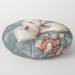 Pointe Shoes Floor Pillow