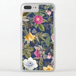 Floral Garden I Clear iPhone Case