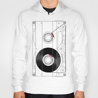 cassette Hoodies featuring Cassette by T.K.O.