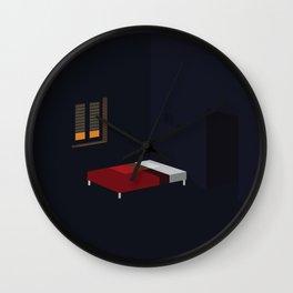 An empty room Wall Clock