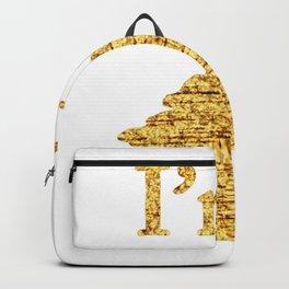 I'm a Unicorn Head in Gold Backpack