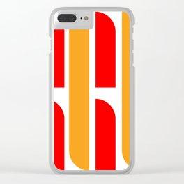 Bauhaus Font art: Joschmi & Xants Clear iPhone Case
