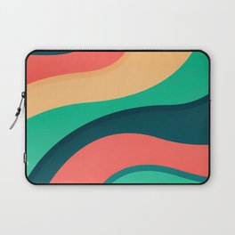 The river, abstract painting Laptop Sleeve