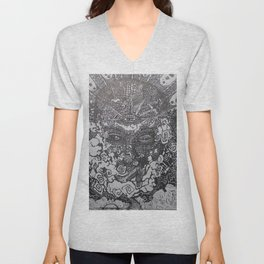Spiritually Smoking Unisex V-Neck