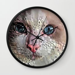 Look Into My Eyes Wall Clock