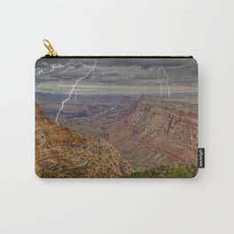 Grand Canyon view from the Desert View Trail Carry-All Pouch