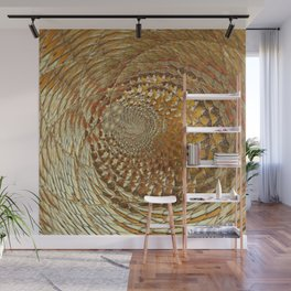 Deepening Of The Gold Wall Mural