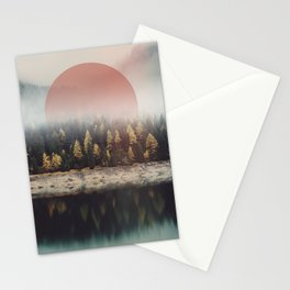 The Calmest of Woods Stationery Cards