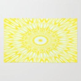 The Sun : Kaleidoscope Mandala Rug