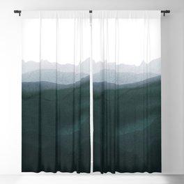 mountain horizon 3 Blackout Curtain