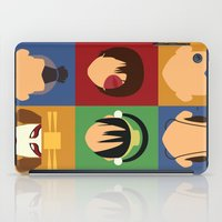 aang iPad Cases featuring Team Avatar by Adrian Mentus