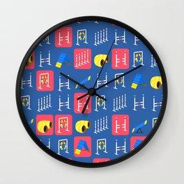 Agility Grid Wall Clock