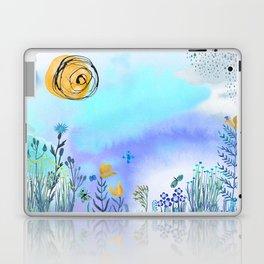 Blue Garden II Laptop & iPad Skin
