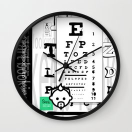 BLINDED HD by JC LOGAN 4 Simply Blessed Wall Clock