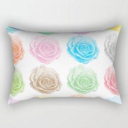 Colorful roses pattern Rectangular Pillow