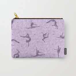 Violet Gymnastics Duvet Carry-All Pouch