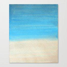 By the Beach Canvas Print