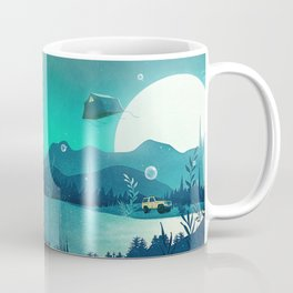 Beneath Barafundle Coffee Mug