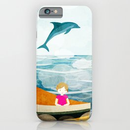 When dolphins are around 1 iPhone Case