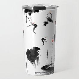 7 Cranes Travel Mug