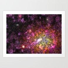 Nebula IV Art Print