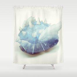 Blue Shell - Kart Art Shower Curtain