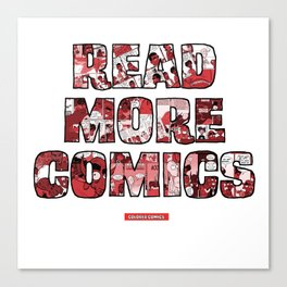 Read More Comics by Colored Comics Canvas Print