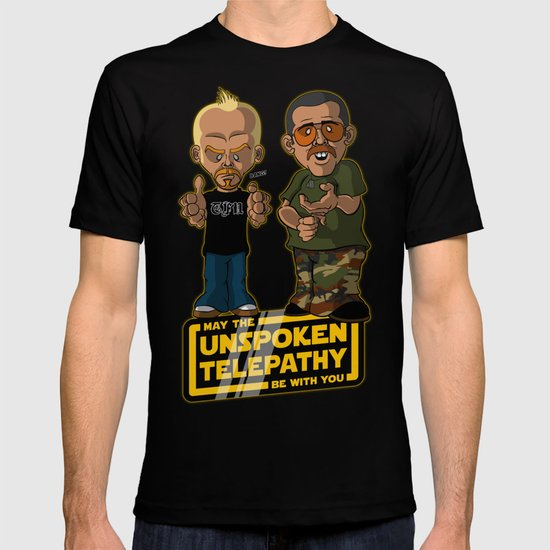 Unspoken Telepathy T-shirt
