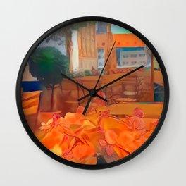 Nuremberg Market Square Wall Clock