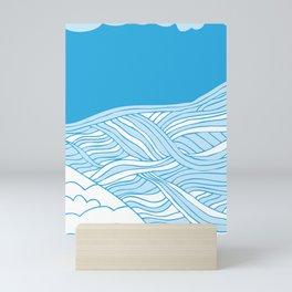 Sea & Sand Mini Art Print