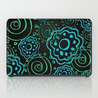 mod iPad Cases featuring mod flowers by Sylvia Cook Photography