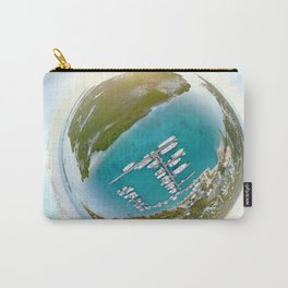 Tiny Planet Turks and Caicos Carry-All Pouch