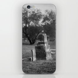 Headstones In City Cemetery iPhone Skin