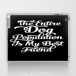 Dog Population Laptop & iPad Skin