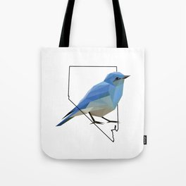 Nevada – Mountain Bluebird Tote Bag