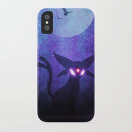 Espeon Space Silhouette iPhone Case