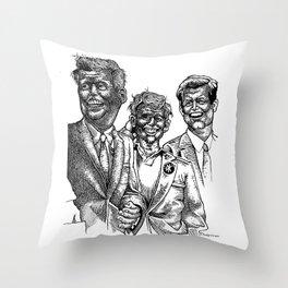 Dead Kennedys Throw Pillow