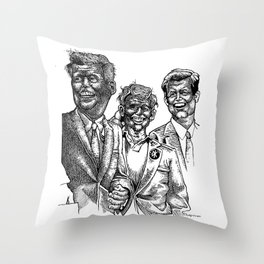 Dead Kennedys Throw Pillow