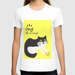 Murphy the cat T-shirt