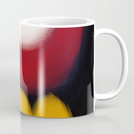 Abstract Expressionism Life Coffee Mug
