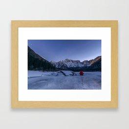 People in Landacape 02 Framed Art Print