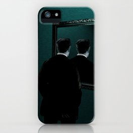 Into the mirror  iPhone Case